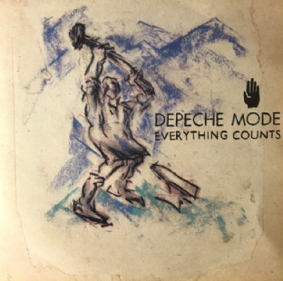 "Depeche Mode ‎- Everything Counts (7"") (VG+/EX-)"